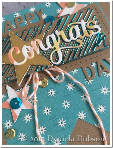Congrats close by Daniela Dobson