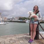 Viktoria im Hafen La Rochelle / Виктория в порту Ла Рошели