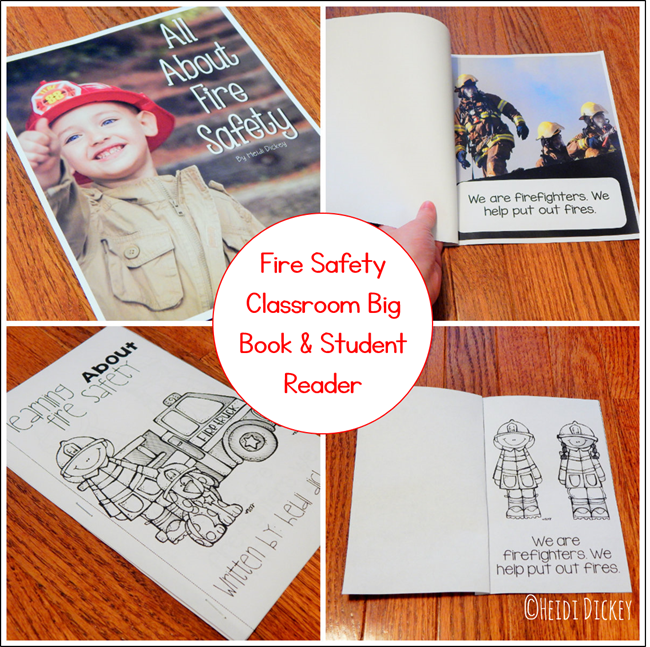 Fire Safety Big Book & Student Reader