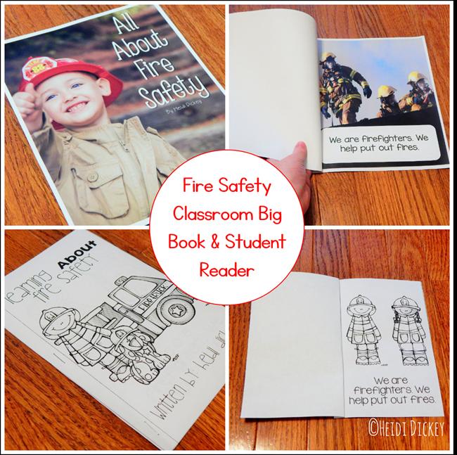 Fire Safety Big Book & Student Reader
