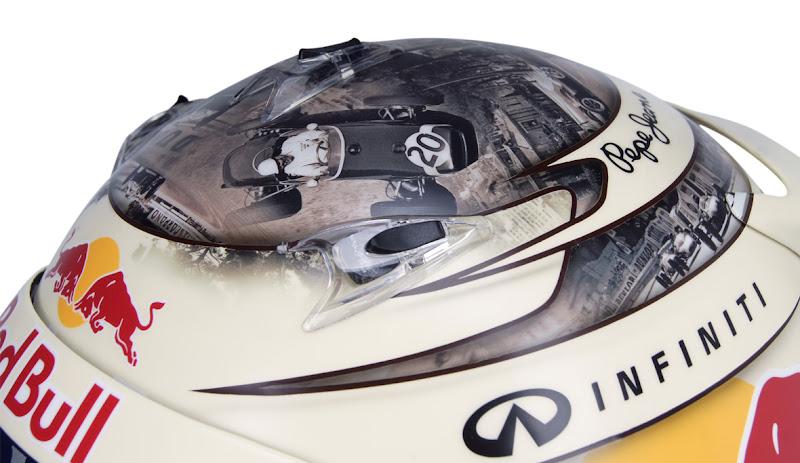 шлем Себастьяна Феттеля для Гран-при Монако 2013