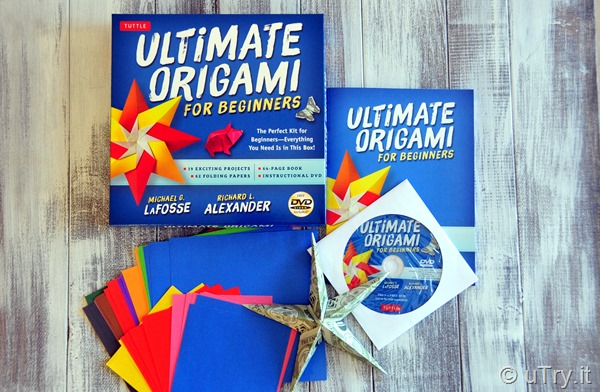 Ultimate Origami for Beginners Kit Review and Giveaway