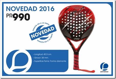 Colección Palas Pádel ARTENGO 2015-16 MODELOS 5