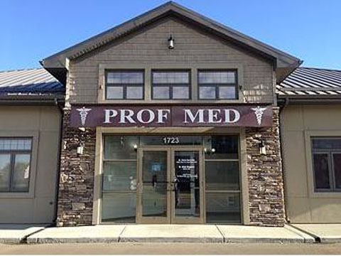 Prof Med Clinic, 1723 51 Ave, Lloydminster, AB T9V 2J6, Canada, Doctor, state Alberta