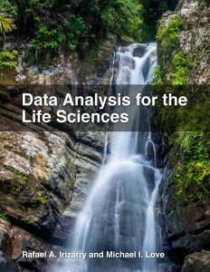 Data Analysis for the Life Sciences - a book completely written in R markdown