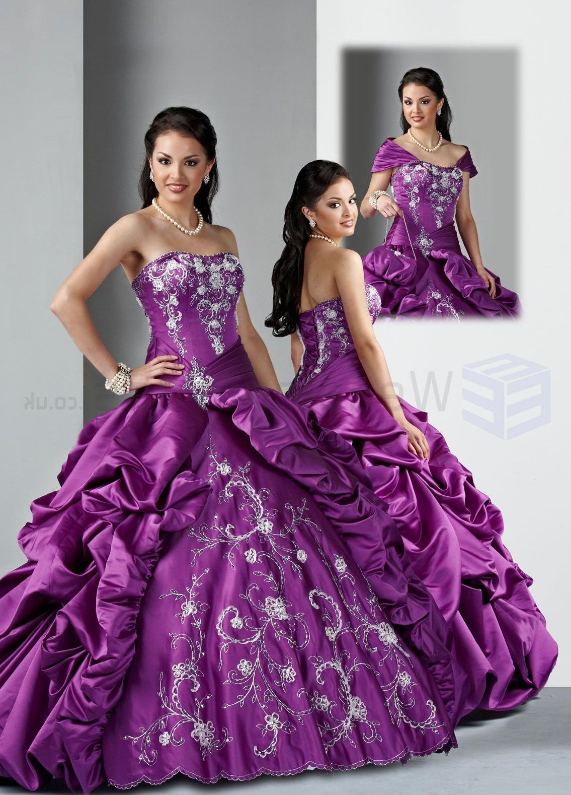 Ball Gown Satin Corset Bodice
