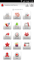 Screenshot of Vodafone Self Servis