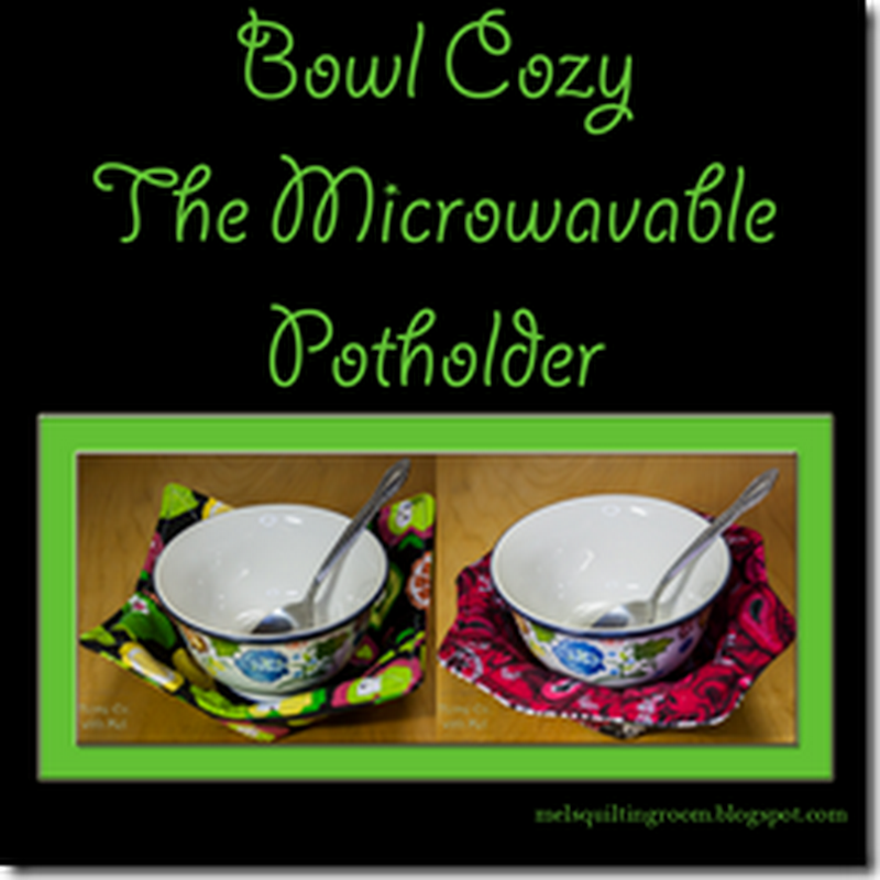 Bowl Cozies - Microwavable Pot Holders