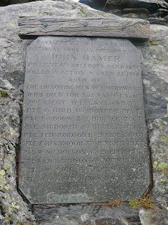 Castle Crag Summit Plaque
