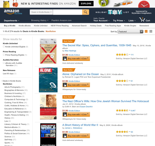 amazon kindle loose books to download