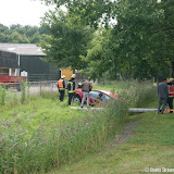 Ongeval Veendammerweg t.h.v. In 't Hout Sierconstructies - Foto's Teunis Streunding