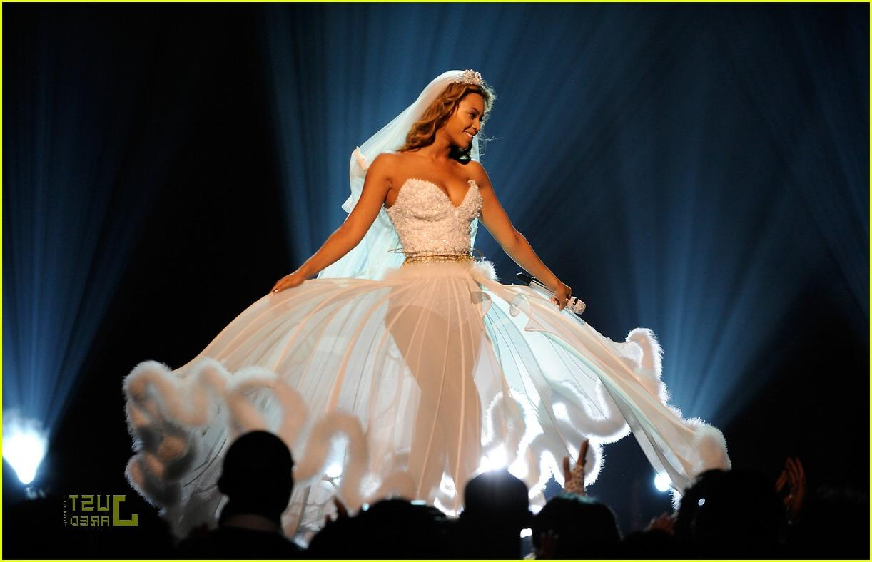 Beyonce Knowles BET wedding