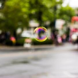 Bubble by Andrea Guyton - Abstract Macro
