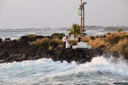 ハワイ島で結婚式