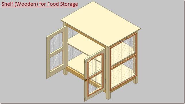 Shelf (Wooden) for Food Storage_2