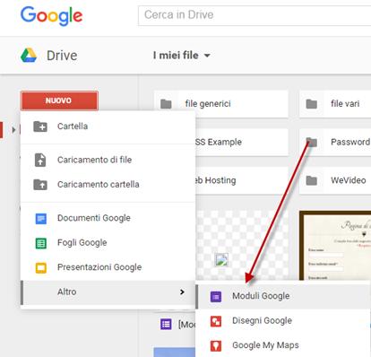 moduli-google-drive