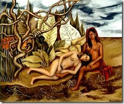 Deux nus dans la forêt, 1939
