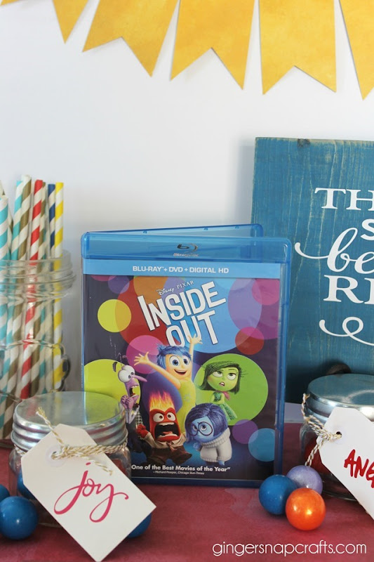 inside out DVD at Target