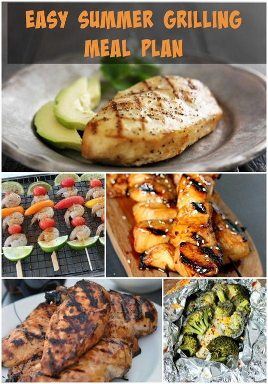 Easy-Summer-Grilling-Meal-Plan