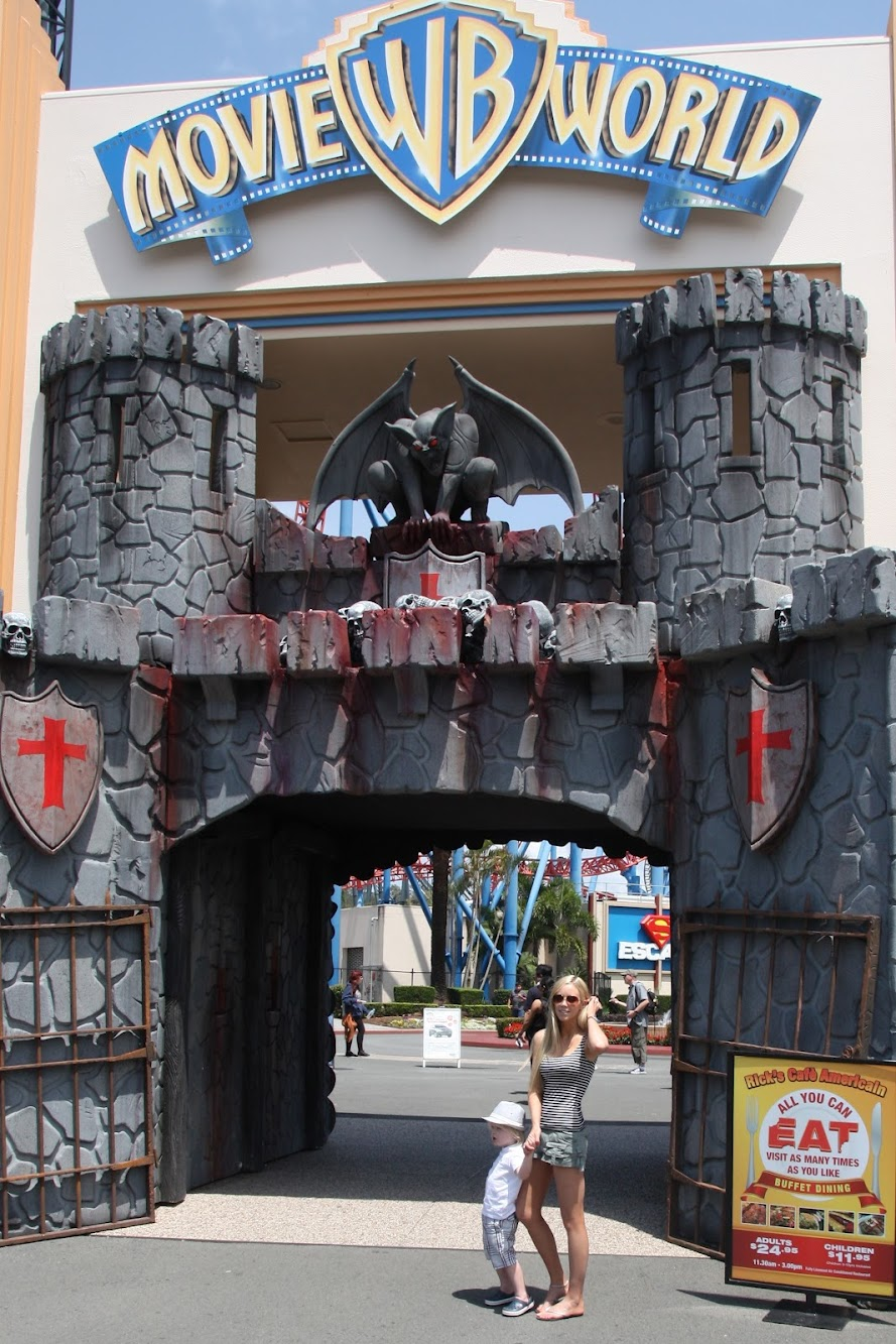 Weekend Lust: Movie World (Gold Coast Theme Parks)