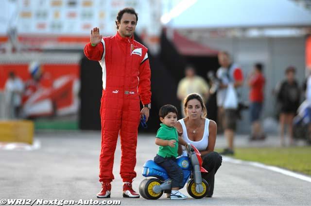 Фелипиньо Масса Фелипе Масса Рафаэла Масса на картинговой гонке Флорианополис 2011