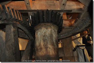 Bishops Lydeard Mill - Spur Wheel and Wallower
