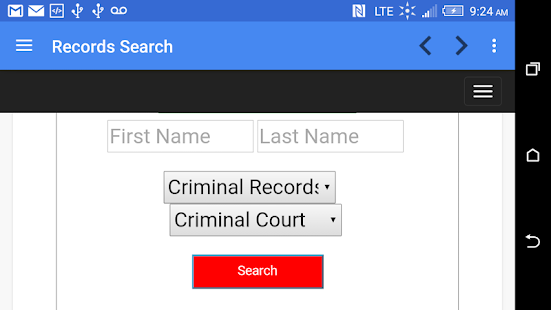 Unlimited Criminal Checks - screenshot