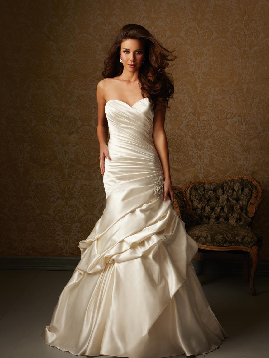 line Corset Wedding Dress