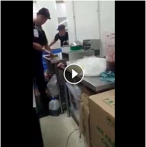 Image of Chicken Meat at SM Hyper Market Being Injected with Water