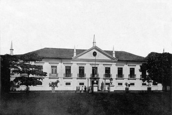Casa das Onze Janelas, foto antica - Belém do Parà, fonte: Haroldo Baleixe/Belém Antiga