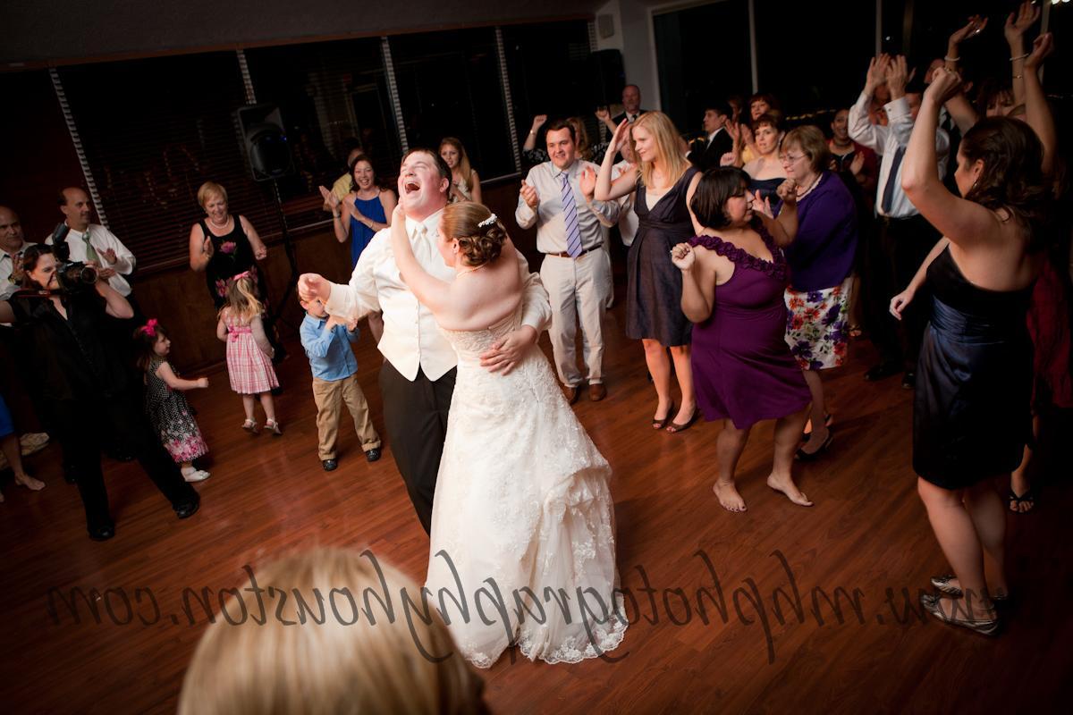 wedding reception fun dancing