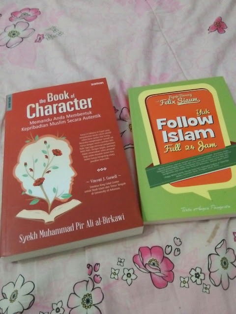 thanks for the book Catatan Evhy