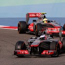 Jenson Button VS Sergio Perez, McLaren MP4-28