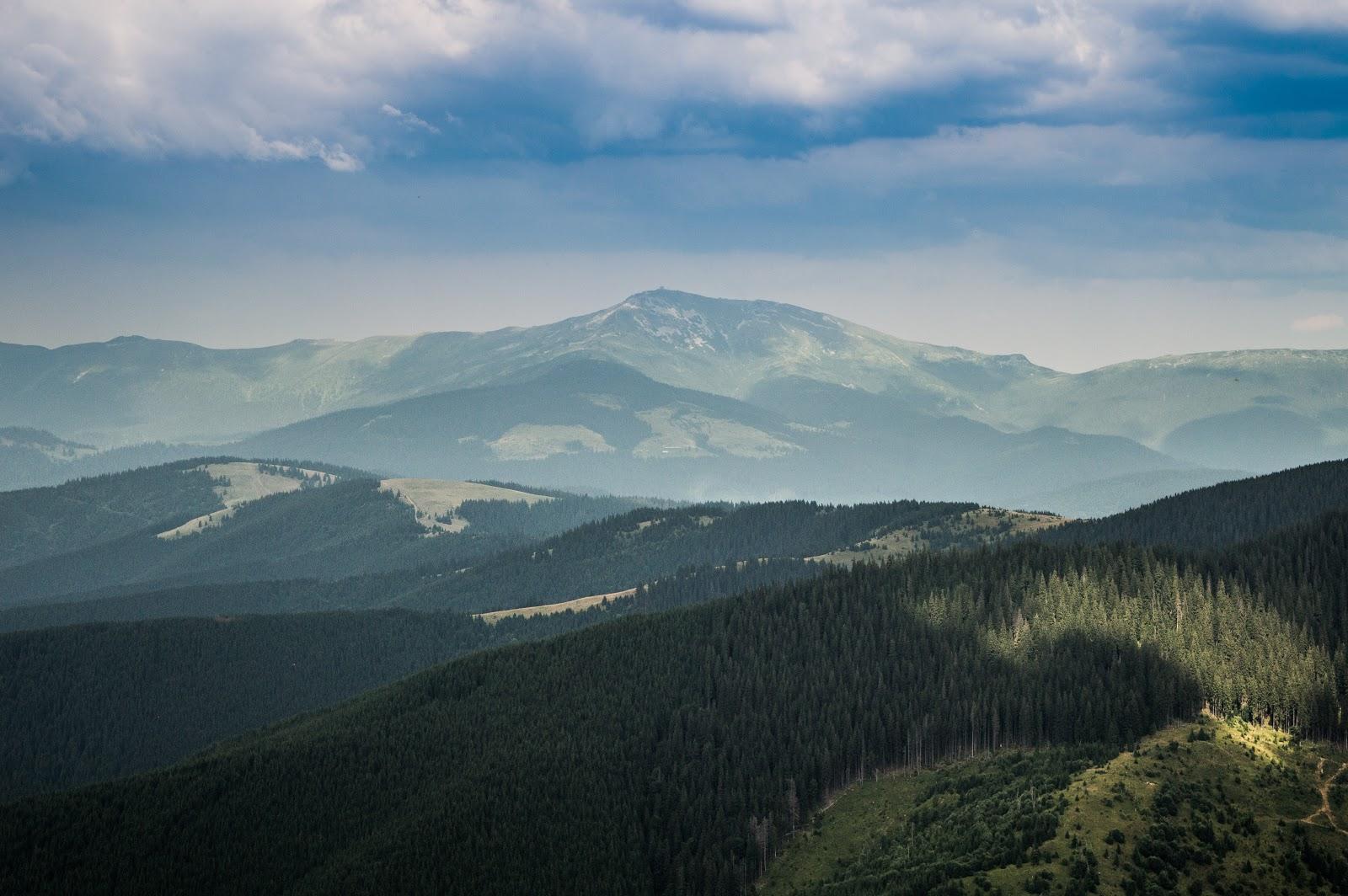Піп іван чорногірський вид з мармароського масиву
