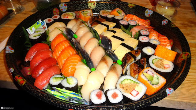 best sushi after Japan can be found in Holland at Hokai Kitchen in IJmuiden, Noord Holland, Netherlands