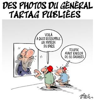 Des photos du général Tartag publiées