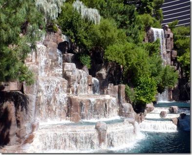 Waterfall at Wynn Hotel