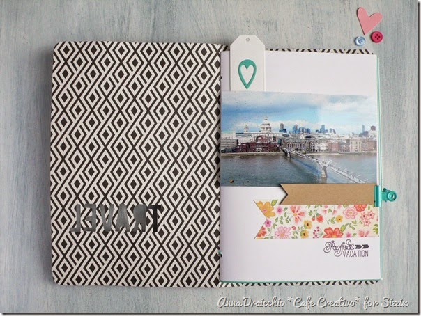 sizzix big shot plus - scrapbooking - mini album - travel journal - by Anna Drai - cafecreativo (4)