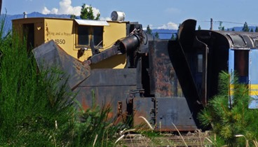 McCloud Railroad Engine-Snowplow