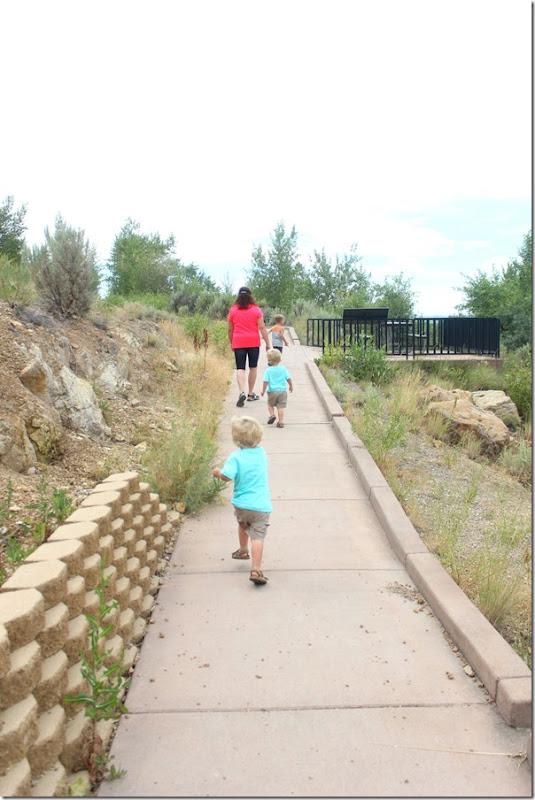child's hike