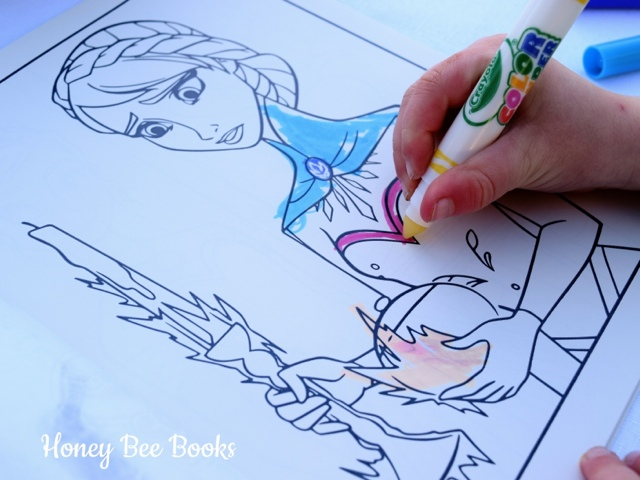 Frozen Crayola Color Wonder Mess Free Coloring In Kit