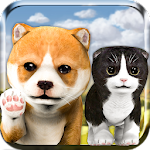 Pet Cat & Dog Simulator 3D Icon