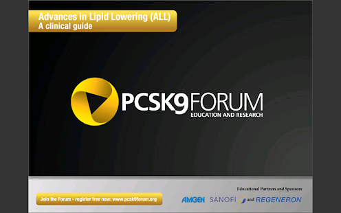 PCSK9 Forum: Lipid Lowering - screenshot