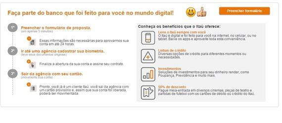 pre-cadastro-para-abertura-de-conta-no-itau-www.2viacartao.com