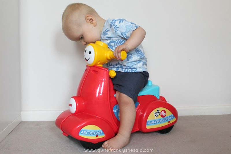 fisherprice smart stages scooter review