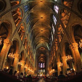 Cathedrale Notre Dame by Sefanya Dirgagunarsa - Buildings & Architecture Places of Worship ( landmark, travel,  )