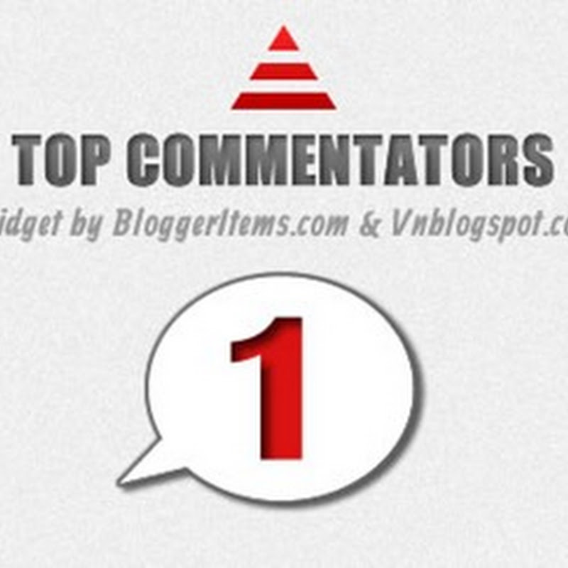Come installare il widget dei Top Commentatori con Avatar per Blogger.