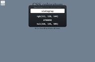 CSS coloratum