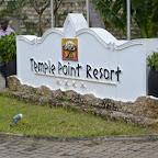 Temple Point Resort, Schild am Eingang © Foto: S. Schlesinger | Outback Africa Erlebnisreisen