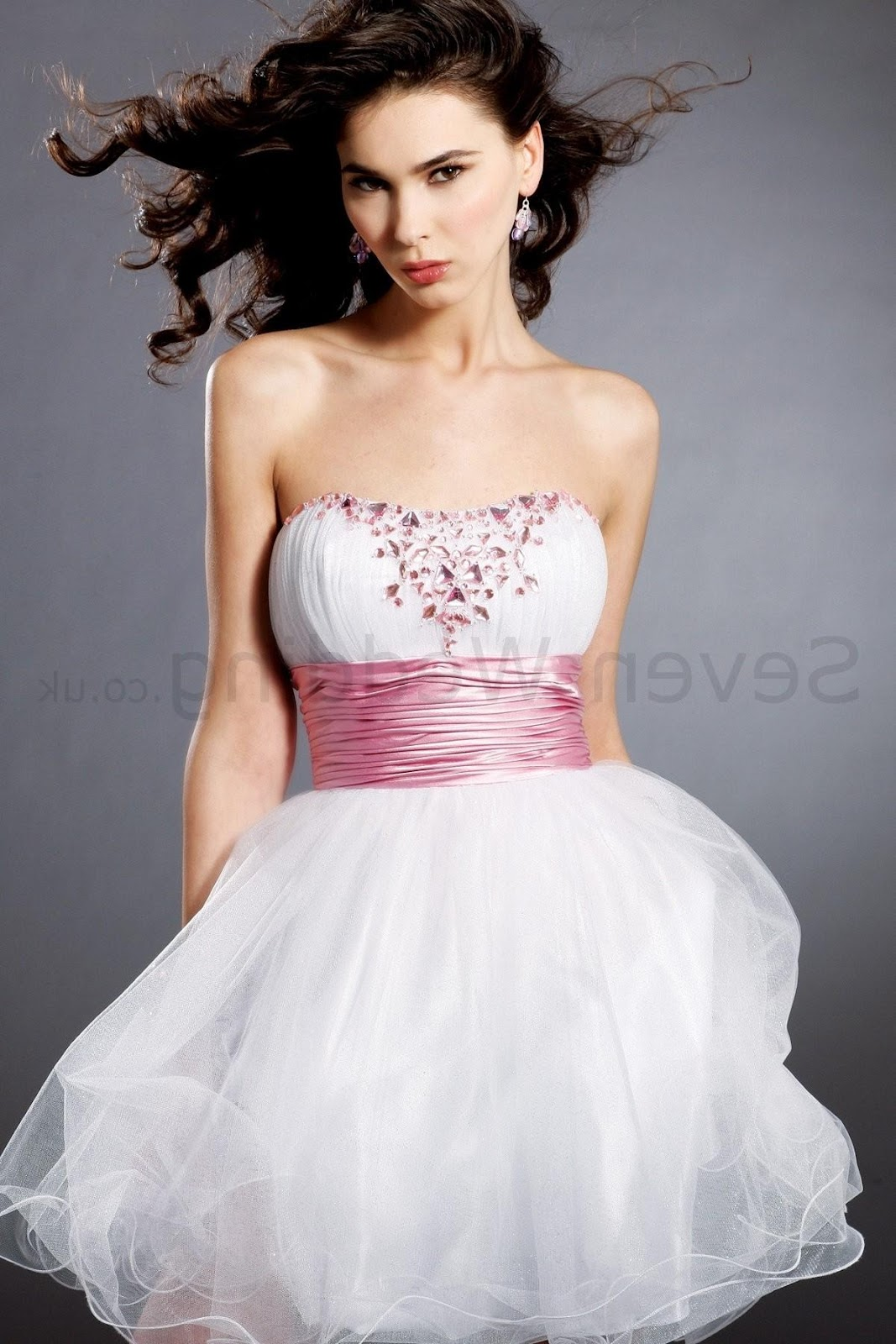 Neckline Short Prom Dress